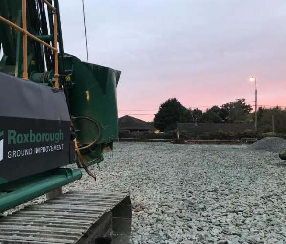 Roxborough Vibro Piling Rig